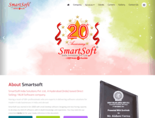 smartsoft.in screenshot