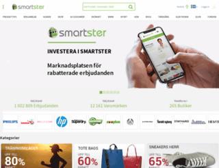 smartster.se screenshot