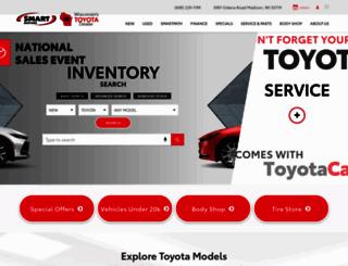 smarttoyota.com screenshot