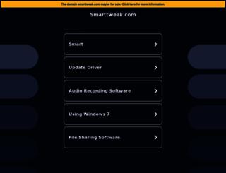 smarttweak.com screenshot