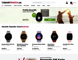 smartwatch.de screenshot