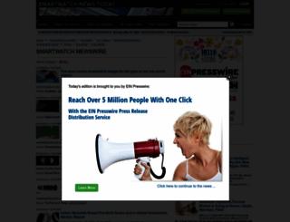 smartwatch.einnews.com screenshot