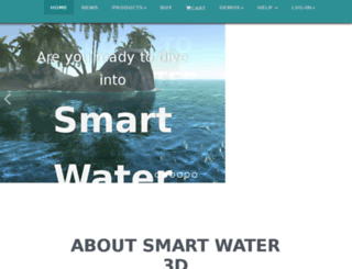 smartwater3d.com screenshot