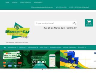 smartybrasiltransfer.com.br screenshot