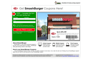 smashburger.fastfoodsaver.com screenshot