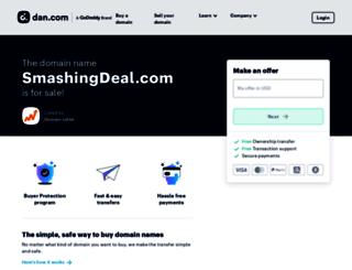 smashingdeal.com screenshot
