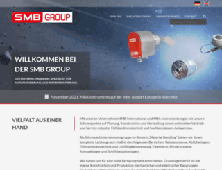 smb-group.de screenshot