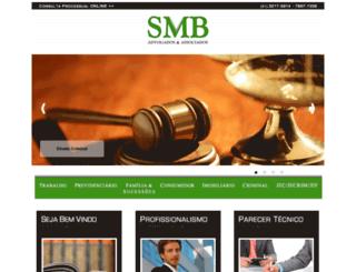 smbadvogados.com.br screenshot