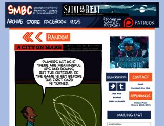 smbc-comics.com screenshot