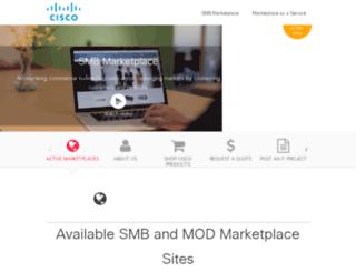 smbmarketplace.cisco.com screenshot