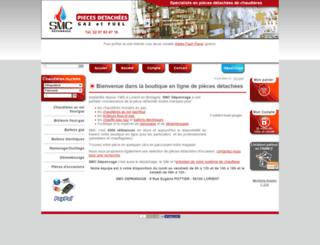 smcdepannage.com screenshot