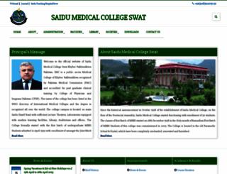 smcswat.edu.pk screenshot