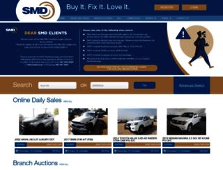 smd.co.za screenshot