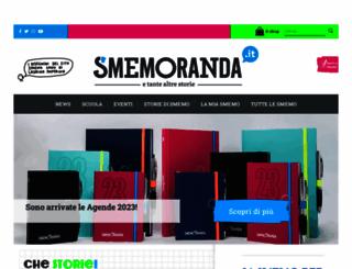 smemoranda.it screenshot
