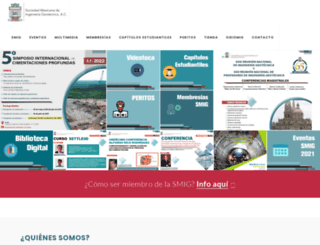 smig.org.mx screenshot