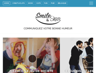 smile-and-share.com screenshot