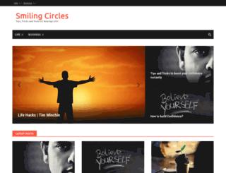 smilingcircles.com screenshot
