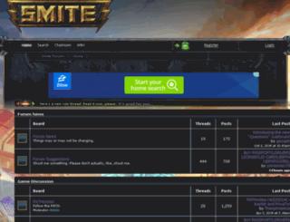 smite.boards.net screenshot
