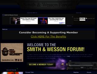 smith-wessonforum.com screenshot