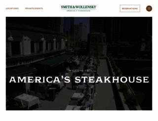 smithandwollensky.com screenshot