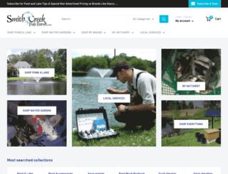 smithcreekfishfarm.com screenshot