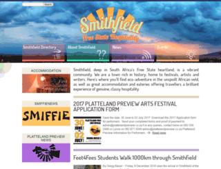 smithfield.co.za screenshot