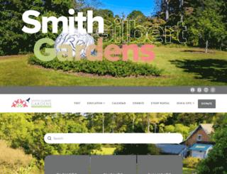 smithgilbertgardens.com screenshot