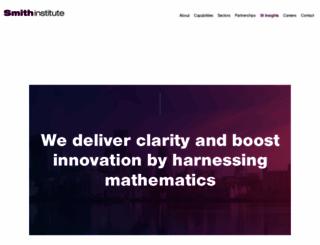smithinst.co.uk screenshot