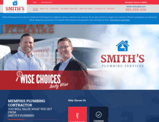 smithplumbingservices.net screenshot