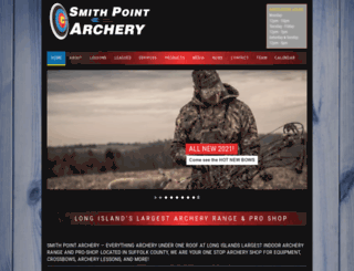 smithpointarchery.com screenshot