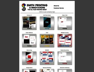 smithprintingshop.com screenshot