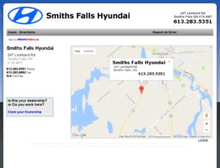 smithsfallshyundai.wheelsonline.ca screenshot