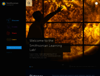 smithsonianeducation.org screenshot
