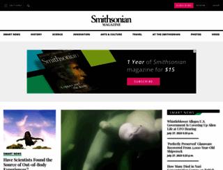 smithsonianmag.com screenshot