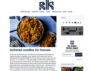 smittenkitchen.com screenshot