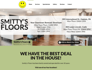 smittysfloors.com screenshot
