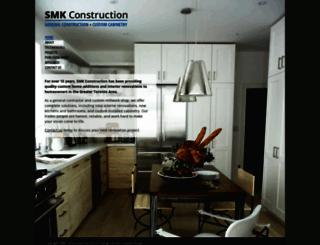 smk-construction.com screenshot