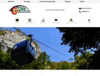 smk.cz screenshot