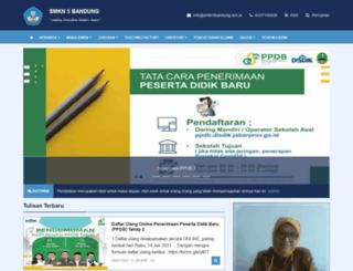 smkn5bandung.sch.id screenshot