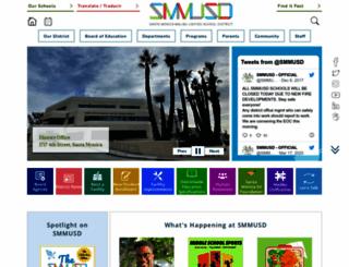 smmusd.org screenshot