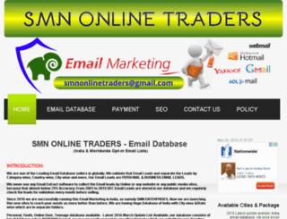 smnonlinetraders.com screenshot