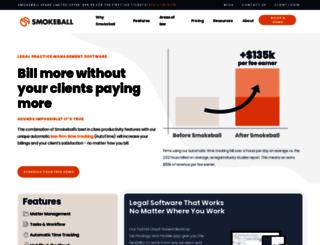 smokeball.com.au screenshot