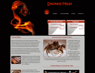 smoked-meat.com screenshot