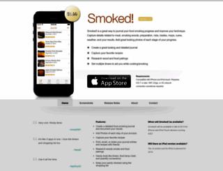 smoked.ontapapps.com screenshot