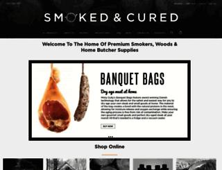 smokedandcured.com.au screenshot