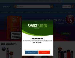 smokegreen.ie screenshot