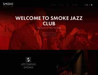 smokejazz.com screenshot