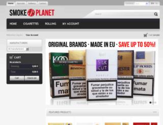 smokeplanet.com screenshot