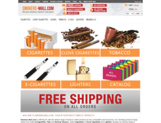 smokers-mall.com screenshot