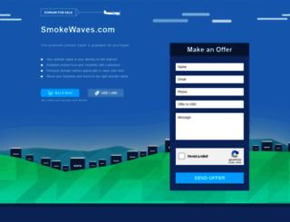 smokewaves.com screenshot